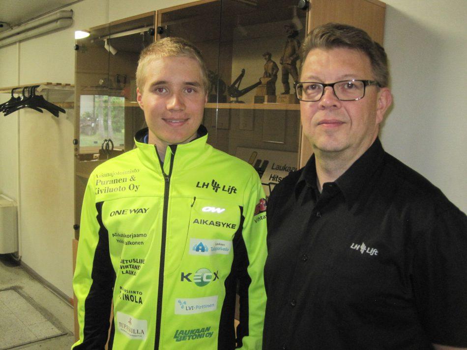 Yhteistyö Inkki Inolan ja LH Liftin kanssa jatkuu myös kaudella 2018-2019