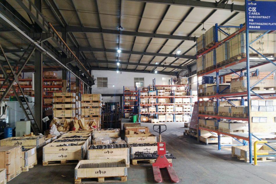 LH Lift Ningbo factory ISO 9001