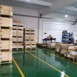 LH Liftin tehdas Kiinan Ningbossa sai noin kolmanneksen lisää tuotantotilaa.