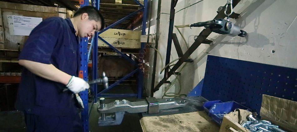 Metalliteollisuuden osavalmistus ja -hankinta Kiinasta LH Lift